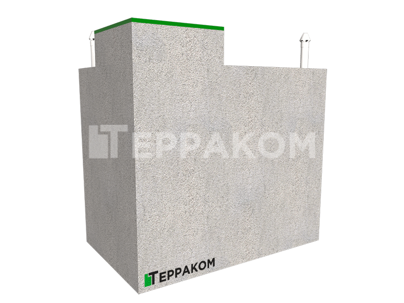 Погреб бетонный готовый
